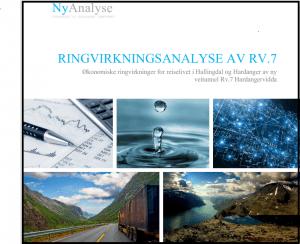 NyAnalyse AS konkluderte med 5000 flere arbeidsplasser med vintersikker RV.7 De får nå faglig støtte fra Asplan Viak i en ny rapport.