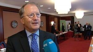 Edmund Utne er hotelldirektør i Ullensvang Hotell FOTO: NRK