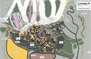 Slik vil Eidfjord Resort se ut når den er endelig ferdig. Foto: Eidfjord Resort