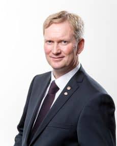 Harald Schjelderup styrer Vestlandets hovedstad og sier ja til Rv.7 som stamvei øst-vest! FOTO: Vidar Langeland