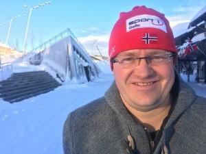 Sjølvaste turistsjefen Pål Knutsson-Medhus Foto: Privat