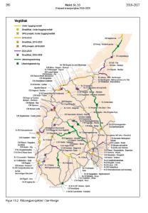 Regjeringen foreslår utbedringstiltak på 300 mill kroner på Rv.7 og en avklaring om tunnelløsninger over Hardangervidda.
